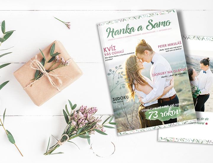 Svadobný časopis by Julia